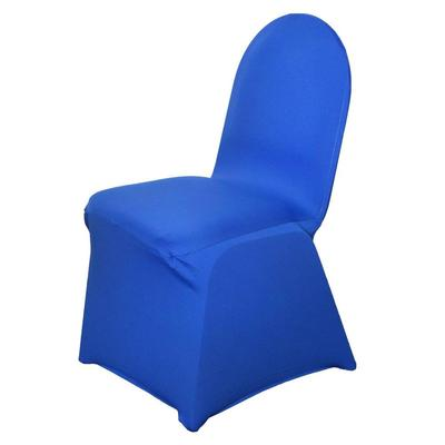 blue spandex chair cover