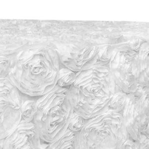 Floral design rectangular tablecloth