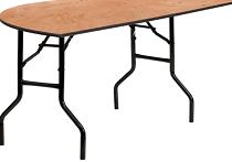 half circle table