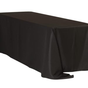 6ft-8ft polyester rectangular tablecloth