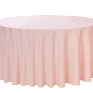 120 inches Round Satin Tablecloth